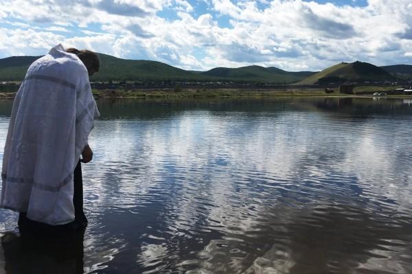 Крещение в Дарасуне