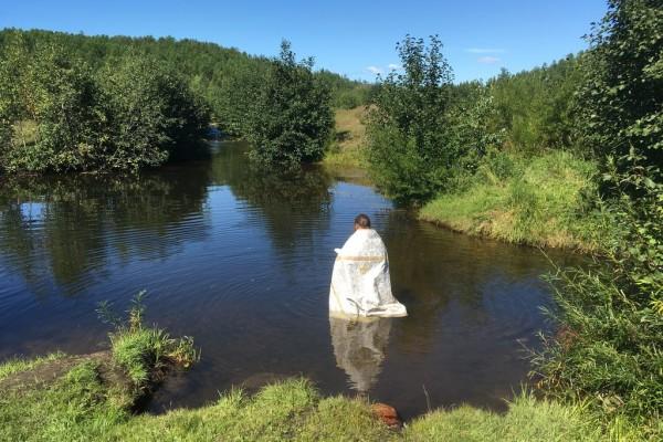 Крещение в Усуглях