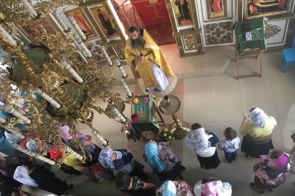 Проповедь в Храме в Дарасуне