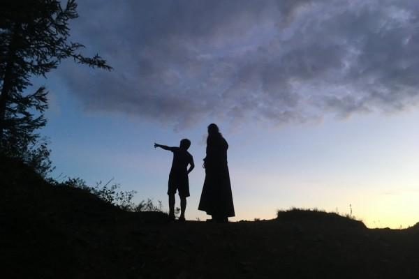 У креста на Сопке Любви